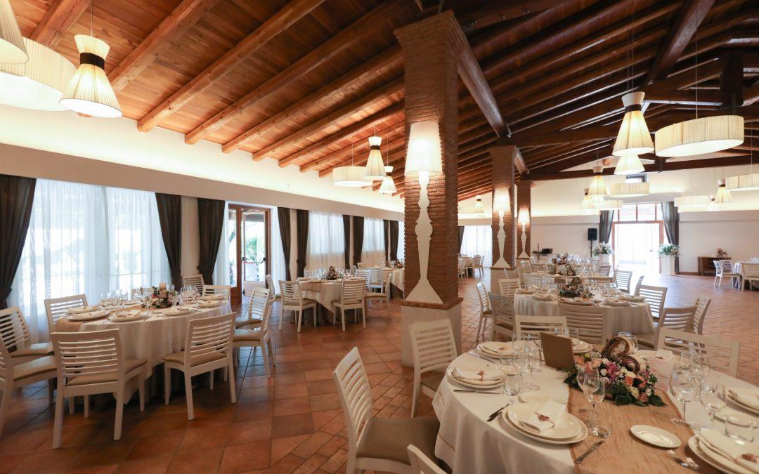 Tenuta Coscia, la location ideale per gli eventi speciali. La sala.