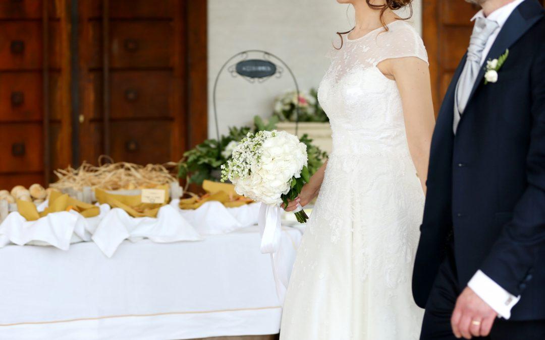 I momenti più attesi del Matrimonio: l'arrivo degli sposi.