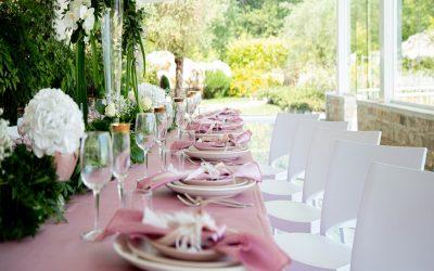 I colori più scelti per gli allestimenti del Matrimonio